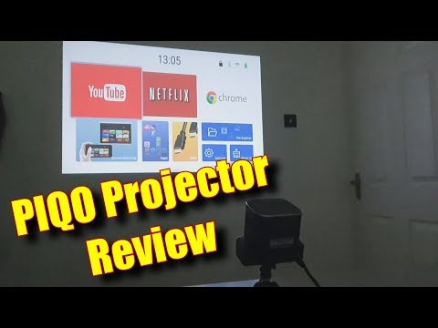 PIQO Projector Review - IndieGogo - Contributor 5456