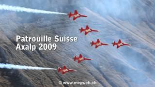 Patrouille Suisse Axalp 2009