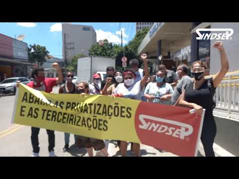 HSPM | Manifestação exige vale-refeição e fim das privatizações no hospital