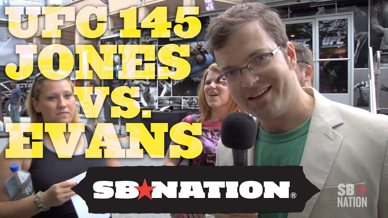 UFC 145 Jones vs. Evans: Spencer Hall Hits The Streets!! thumbnail