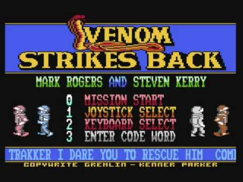 Commodore 64: Mask 3 - 'Venom Strikes Back' game ending by Gremlin Graphics