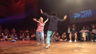 Yusei(D-BLAST) vs MAiKA(RUSH BALL) FINAL HIPHOP / DANCE@LIVE 2017 CHARISMAX KANTO