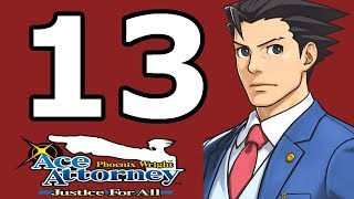 Phoenix Wright Ace Attorney: Justice for All Walkthrough Part 13 - No Commentary Playthrough (3DS)