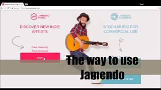 The way to use Jamendo
