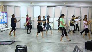 Arise Shine/Arise Shine for your light has come Tambourine Dance Practice 2