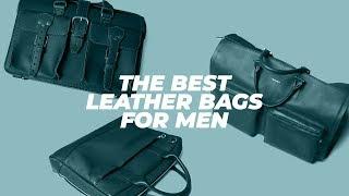Best LEATHER BAGS For Men? (NOT Sponsored) My Favorite Weekender Bag + Briefcases • Effortless Gent