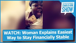 Woman Explains Easiest Way to Stay Financially Stable