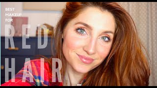 BEST MAKEUP FOR RED HEADS OR GREEN EYES