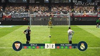PES 2019   SEVILLA vs REAL MADRID   Penalty Shootout   Gameplay PC