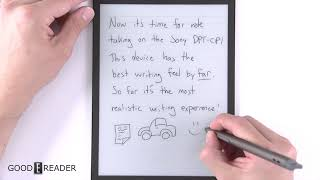 Note Taking Showcase - Sony Digital Paper DPT CP1