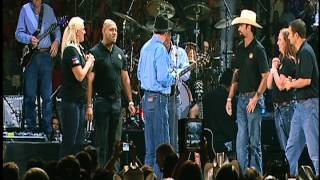 George Strait Gives Away Homes to Military Warriors in San Antonio