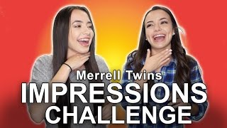 Impressions Challenge - Merrell Twins