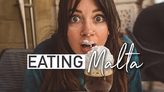 4 days in Malta: Maltese Food you NEED to Try   Travel Vlog