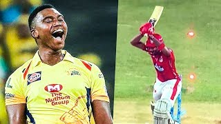 Ngidi's Unplayable Delivery to KL Rahul | CSK Vs KXIP