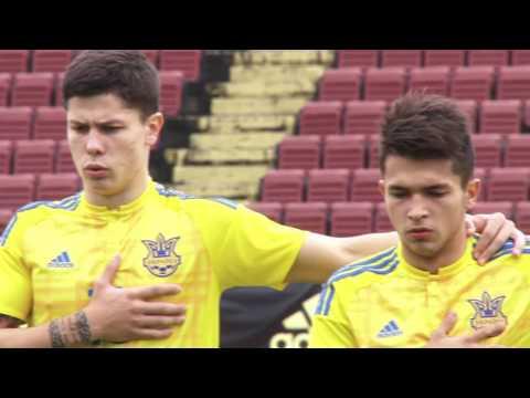 Турция U19 - Украина U19 3:1. Видеообзор матча 11.10.2016. Видео голов и опасных моментов игры