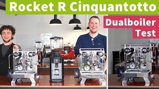 Rocket R Cinquantotto – Dualboiler-Espressomaschine im Test