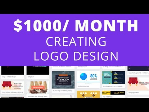 Make $1000/Month By Creating And Selling Logos | Skill Boost