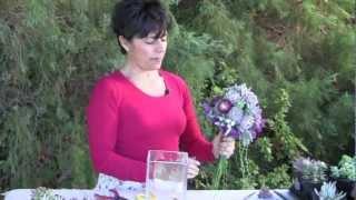 Create A Succulent Bridal Bouquet That Lasts Months