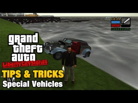GTA Liberty City Stories - Tips & Tricks - Special Vehicles