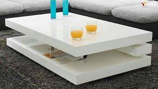 Modern Coffee Table Design Ideas 2020 | Living Room Center Table Design 2020 | Wood Tea Table Design