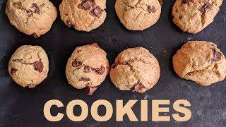 Des cookies généreux