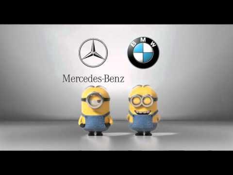Mercedes-Benz Werbung - Minions