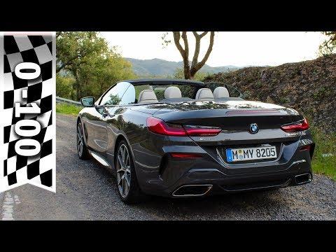 BMW M850i xDrive Cabriolet: Soundcheck, 0-100 km/h, 0-60 mph / Acceleration & sound BMW 8 Series