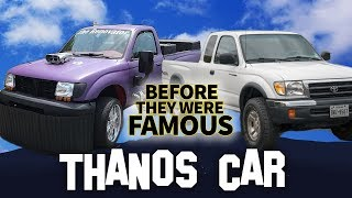 THANOS CAR | Before They Were Famous | Sean The Renovator Dank Memes