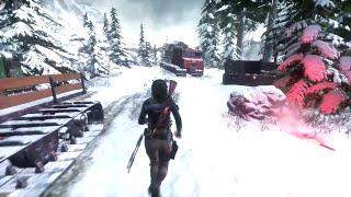 Rise of the Tomb Raider МОНТАЖ!