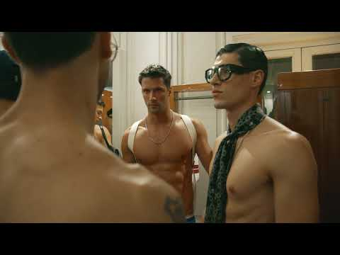 Dolce&Gabbana The Naked King Men's Fashion Show