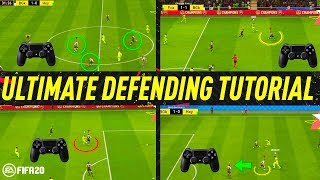 FIFA 20 ULTIMATE DEFENDING TUTORIAL - HOW TO DEFEND - BEST WAY TO JOCKEY, TACKLE & APPLY PRESSURE!