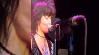 "Joan Jett Concert slideshow to ""Baby Blue"""