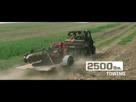 2021 Polaris Ranger Crew 1000 Premium + Winter Prep Package in Cedar Rapids, Iowa - Video 1