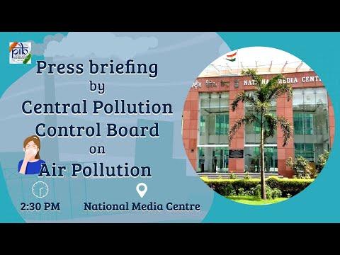 Technical Briefing by CPCB Chairman Shiv Das Meena on Air Pollution