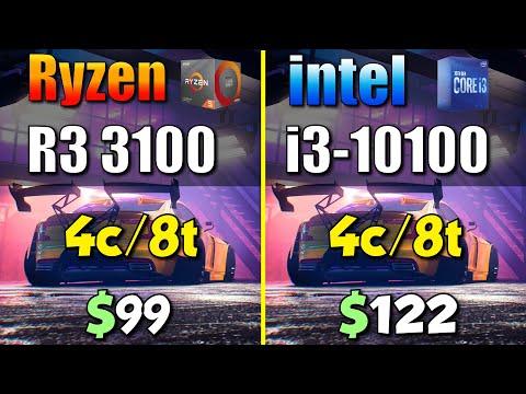 十代I3 與 R3 3100的性能比較