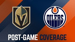 ARCHIVE | Post-Game Coverage – Oilers vs. Knights