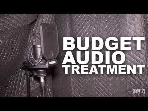 Budget Audio Treatment & Budget Vocal Booth (FAQ Series)