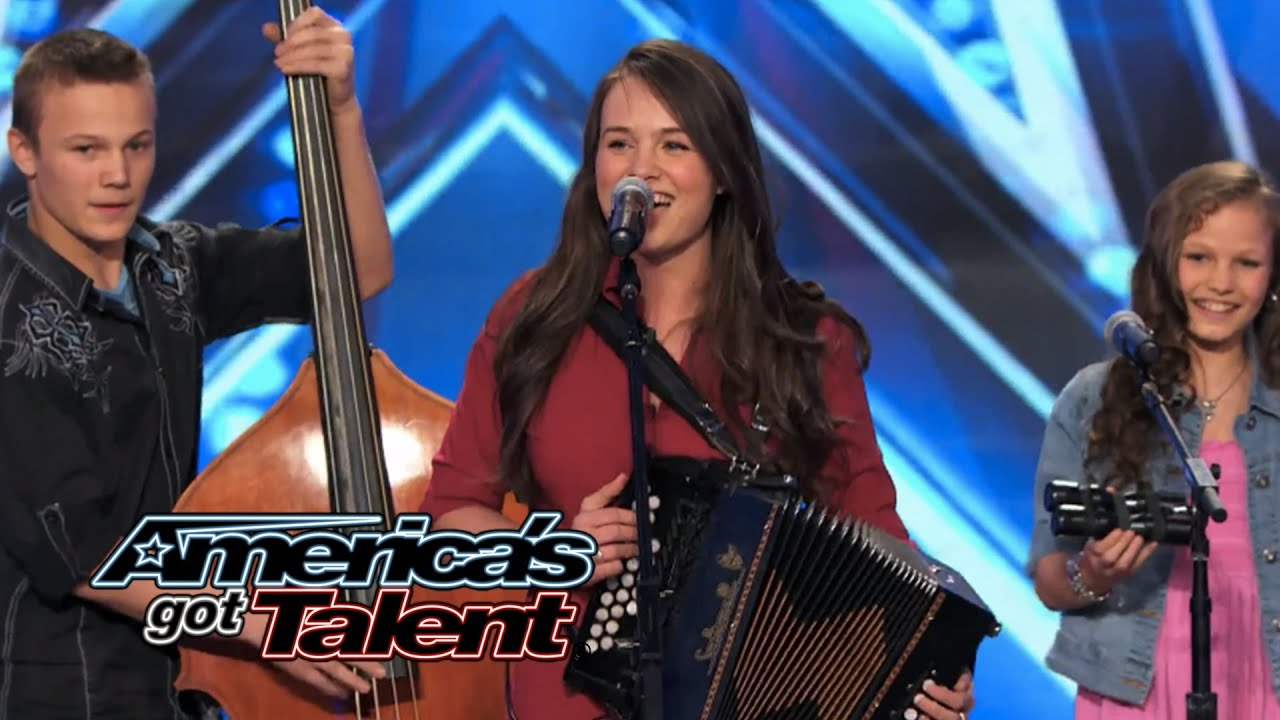 """The Willis Clan: Band of Siblings Impress With """"Sound of Music"""" Cover - America's Got Talent 2014 thumbnail"""