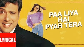 Paa Liya Hain Pyar Tera Lyrical Video | Kyo Kii   - YouTube
