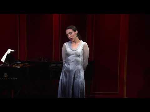 Opera: Carmen Composer: Bizet Aria: Seguidilla Pianist: Cathy Miller Audio Engineer: Matthew Snyder