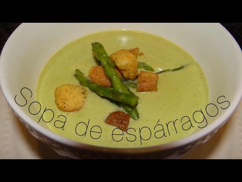 Cómo hacer Sopa de Espárragos // En la cocina con Mary