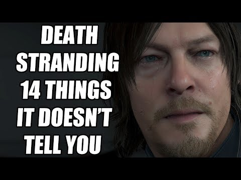 14 Beginners Tips And Tricks Death Stranding Doesn't Tell You