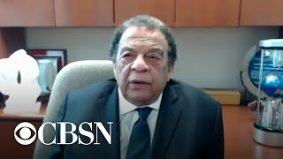 """Civil rights leader Andrew Young says George Floyd's death """"touched the heart of the planet"""""""
