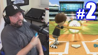I HURT MYSELF! | Wii Sports Baseball #2
