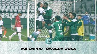 Câmera Coxa   Coritiba 2 x 1 Paraná