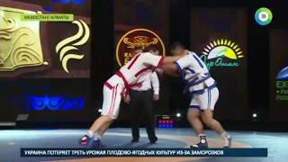 Казакша курес  в Казахстане развивают национальную борьбу