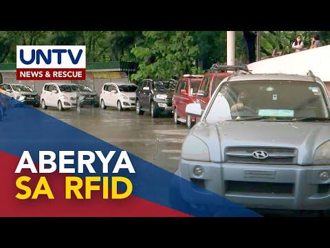 [UNTV]  Pagpapakabit ng RFID sa QC Circle dinagsa ng mga motorista; kawalan ng maayos na sistema inireklamo