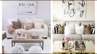 GLAMOROUS LUXURY BEDROOMS , LIVING ROOMS WITH LEOPARD PRINT ACCENT TOUR INSPO & IDEAS 2019