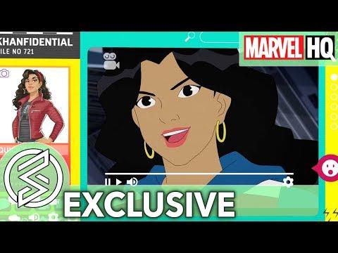 KAMALA KHANFIDENTIAL   America Chavez   Marvel Rising: Secret Warriors
