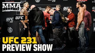 UFC 231: Holloway vs. Ortega Preview Show - MMA Fighting